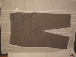 VAN HEUSEN MENS PANTS 40X29 GRAY CLASSIC FIT DRESS TROUSER F