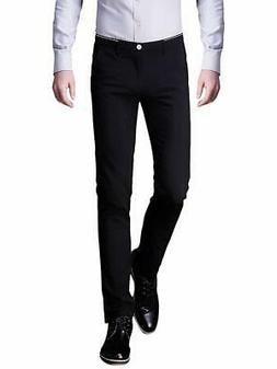 Inflation Mens Pants Black Size 31X30 Slim Tapered Khakis Ch