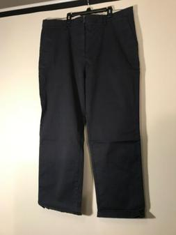 Goodthreads Mens Pants Blue Size 40X30 Slim Khakis Chinos St