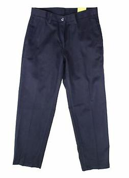 Lee Mens Pants Navy Blue Size 30x30 Stain Resist Relaxed Fit