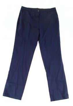 Inflation Mens Pants Navy Blue Size 36x32 Solid Straight Fla