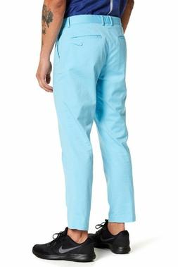 NIKE GOLF Mens Pants WASHED Modern FIT FLAT FRONT 846731 sky