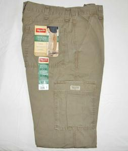 Mens Wrangler Rip-Stop Cargo Pants ALL SIZES 34-44 Relaxed F