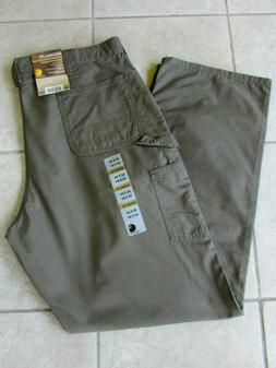 Carhartt Mens Soft Canvas Carpenter Dungaree Work Pants Size