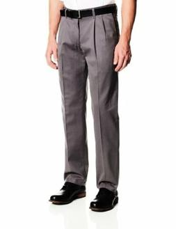 Lee Mens Stain Resistant Relaxed Fit Pleated Pant- Pick SZ/C