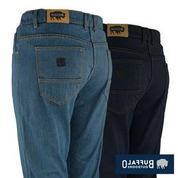 Buffalo Outdoors™ Mens Straight Leg Comfort Jeans Basic Wo
