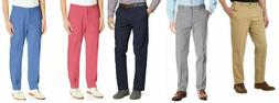 IZOD Mens Stretch Chino With Sportflex Band Saltwater Straig