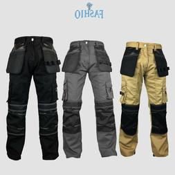 Mens Workwear Trouser Cordura Knee Reinforcement Utility Pan