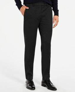 Calvin Klein Mens X-Fit Skinny Stretch Flat Front Dress Pant