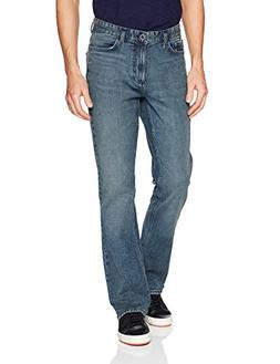 Calvin Klein Men's Modern Boot Cut Jean, Atlas Blue 32W 34L