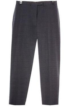 NEW Calvin Klein  Men Classic Flat Front Straight Fit Check