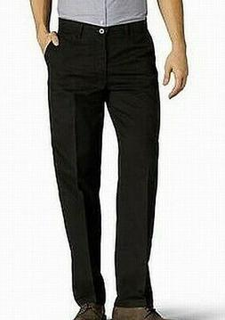 Lee NEW Black Mens Size 32x32 Khakis Total Freedom Relaxed-F