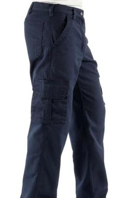 NEW Carhartt Fire Resistant Cargo Work Pants  Navy Blue Men'