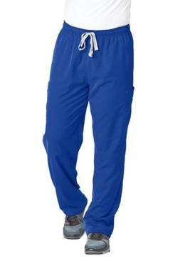 NEW Grey's Anatomy Men's 0212 Modern Fit Cargo Scrub Pant Ga