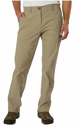 NEW MENS 38x34 KHAKI TAN UB TECH BY UNION BAY COMFORT WAIST