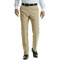 NEW Haggar Mens in Motion Performance Straight Fit Stretch P