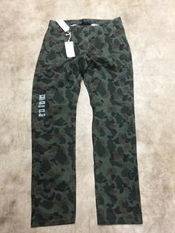 New Dockers Mens Slim Tapered Fit Alpha Khaki Pants camoufla