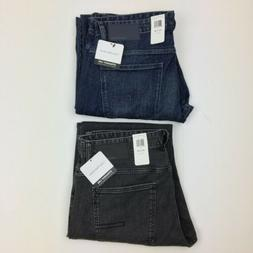 NEW Mens Calvin Klein Straight Leg Fit Jeans Osaka Blue Axe