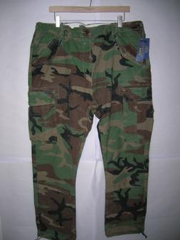new Polo Ralph Lauren military camo field cargo pants vintag
