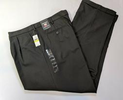 New Van Heusen No Iron Black Comfort Stretch Wrinkle Resista