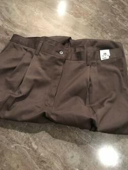 NEW Lee Pants Mens 42 X 32 Relaxed Seat & Thigh Brown Double