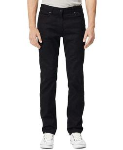 NEW CALVIN KLEIN SLIM STRAIGHT LEG BLACK Jeans Men's 34 X 32