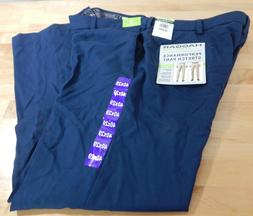 NWT Men's Haggar in Motion Performance Stretch Dress Pants w