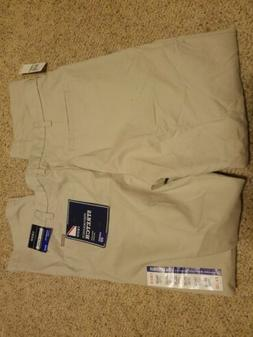 NWT  IZOD Men's Performance 4 Way Stretch Straight Dress Pan