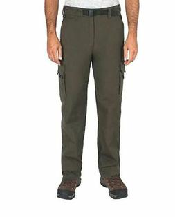 NWT BC Clothing Men's Stretch Cargo Hiking Pants Olive Green