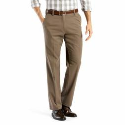 NWT Men's Dockers Stretch Easy Khaki D2 Straight-Fit Flat-Fr