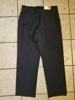 NWT Mens CHAMPION Golf Pants Black 100% Polyester Duo Dry Qu