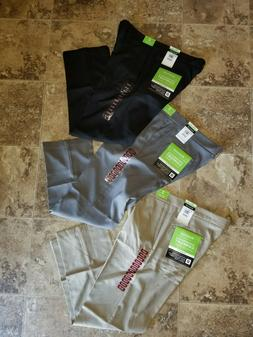 Nwt Mens Haggar Performance Comfort Casual Pants Straight Fi
