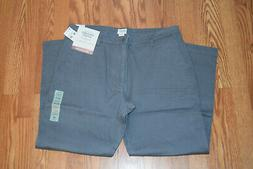 NWT Mens DOCKERS Washed Khaki Gray Straight Fit Stretch Pant
