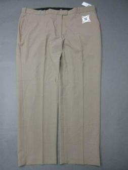 NWT IZOD Size 42x29 Mens Brown Performance Stretch Straight