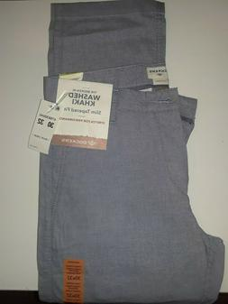 Dockers pants mens 30x32 Slim Tapered broken in Khaki washed