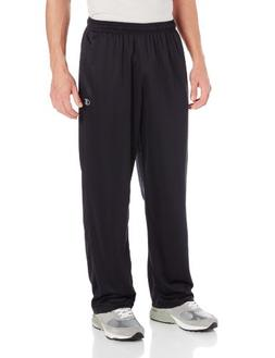 Champion Men's Powertrain Knit Training Pant, Black/Slate Gr