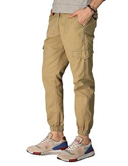 Match Men's Regular Fit Chino Jogger Cargo Pant
