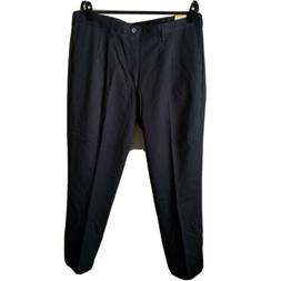 Lee Relaxed-Fit Stain Resist Pleated Mens Pants Tan Black 40
