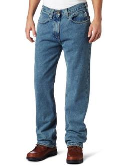 Carhartt Men's Relaxed Straight Colored Denim,Black ,32 x 34
