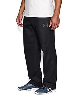 Under Armour Men's Rival Fleece Pants, Black/Graphite, Mediu