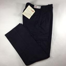 Topps Safety Apparel Fire Resistant Pant Men's 34 Navy Blue
