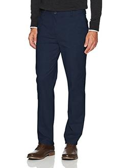 IZOD Men's Saltwater Stretch Chino, Cadet Navy 17, 36W X 29L