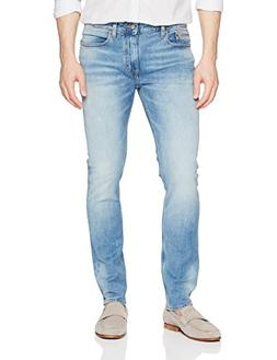 Calvin Klein Jeans Men's Skinny Fit Denim, Roxy Blue Destruc