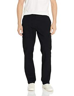 Amazon Essentials Men's Slim-Fit Cargo Pant, Black, 29W x 30
