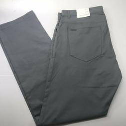 Calvin Klein Slim Fit Pants Grey Convoy Mens 34x32 New With