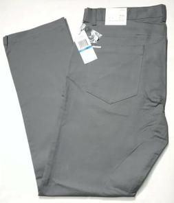Calvin Klein Slim Fit Pants Grey Convoy Mens 36x32 New With