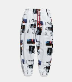 INFLATION Space Graphic Print Joggers