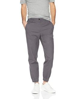 Amazon Essentials Men's Straight-Fit Jogger Pant, Dark Grey,