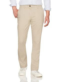 Goodthreads Men's Straight-Fit Washed Chino Pant, Khaki, 40W