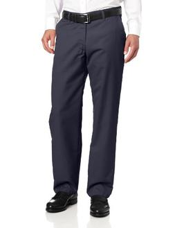 Lee Men's Total Freedom Relaxed Fit Flat Front Pant - 42W x